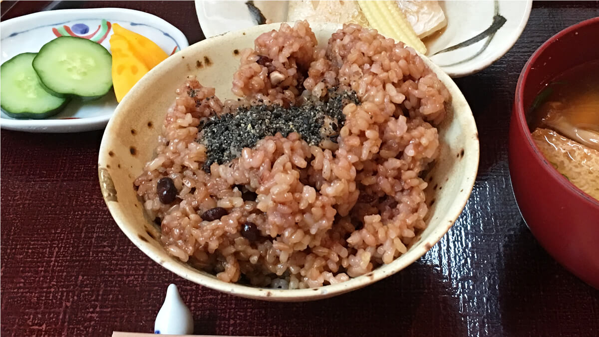 酵素玄米の写真
