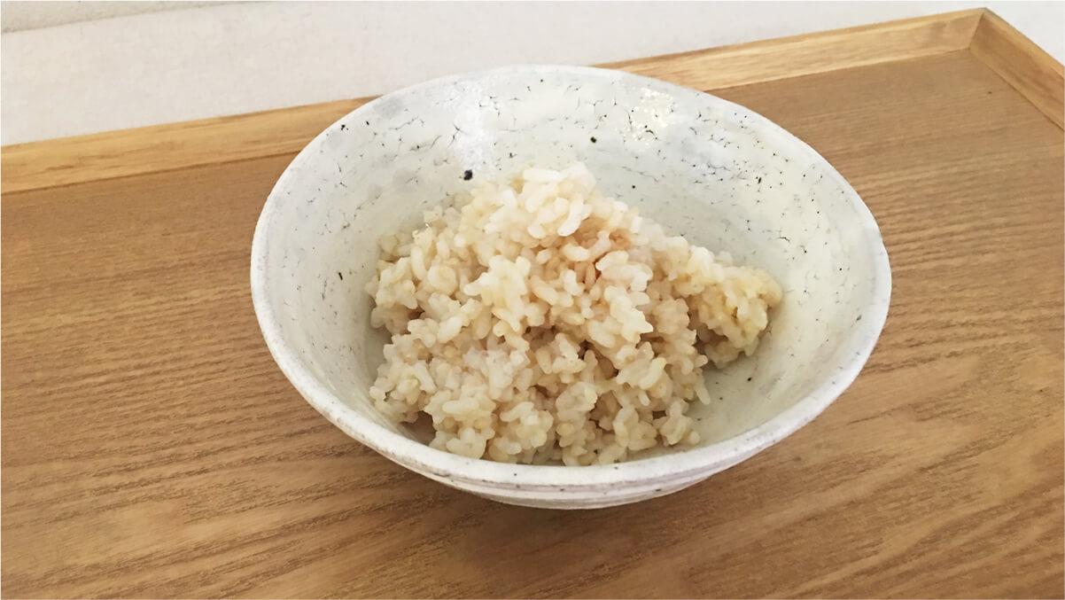 炊き立てのロウカット玄米